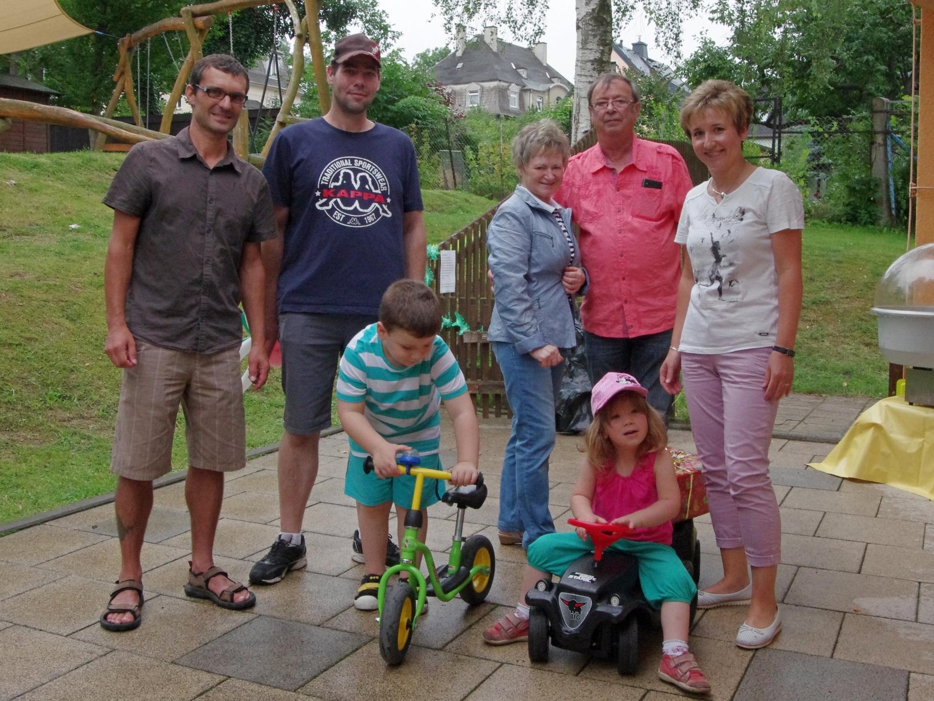 Spende von Familie Wosiewicz